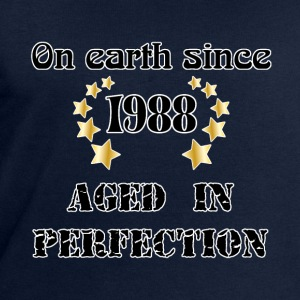 on earth since 1988 T-Shirts - Men's Sweatshirt by Stanley & Stella