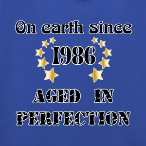 on earth since 1986 T-Shirts - Kids' Premium Hoodie