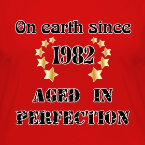 on earth since 1982 T-Shirts - Women's Premium Longsleeve Shirt