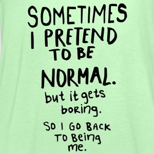 Awesome - Normal is Boring T-shirts - Dame tanktop fra Bella