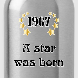 1967 - a star was born T-Shirts - Water Bottle