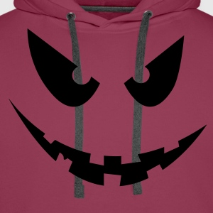 Halloween Face - Sweat-shirt à capuche Premium pour hommes