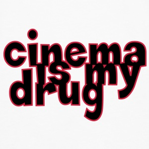 Cinema is my drug ! Tee shirts - T-shirt manches longues Premium Homme