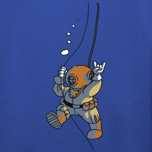 diver old fashioned T-Shirts - Kinder Premium Hoodie
