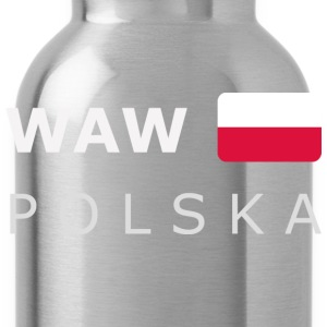 Teenager T-Shirt WAW POLSKA white-lettered - Water Bottle