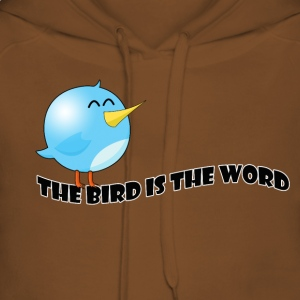 Bird is the word T-Shirts - Women's Premium Hoodie