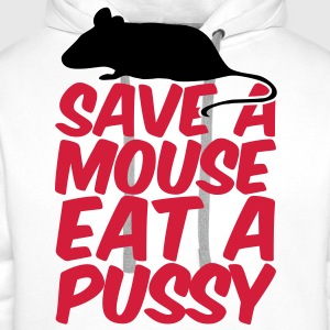 Save A Mouse T-Shirts - Men's Premium Hoodie