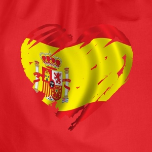 heart spain T-Shirts - Drawstring Bag