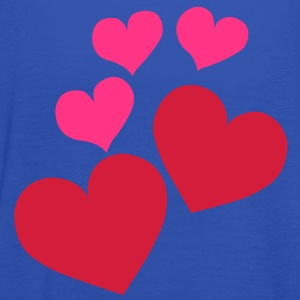 Heart Love T-Shirts - Women's Tank Top by Bella
