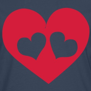 Heart Love T-Shirts - Men's Premium Longsleeve Shirt