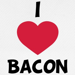 I love bacon T-shirts - Baseballkasket