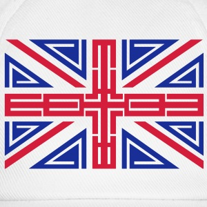 Womens Tribal British flag T-shirt - Baseball Cap