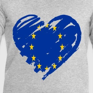 coeur europe Tee shirts - Sweat-shirt Homme Stanley & Stella