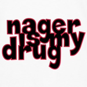 Nager is my drug ! Tee shirts - T-shirt manches longues Premium Homme