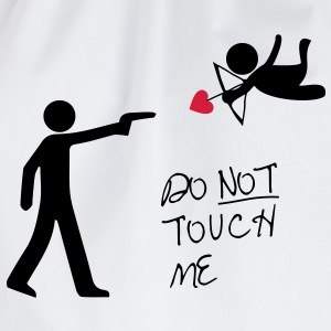 Cupid no love T-Shirts - Turnbeutel