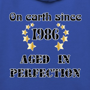 on earth since 1986 Tee shirts - Pull à capuche Premium Enfant