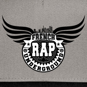 french rap underground Tee shirts - Casquette snapback