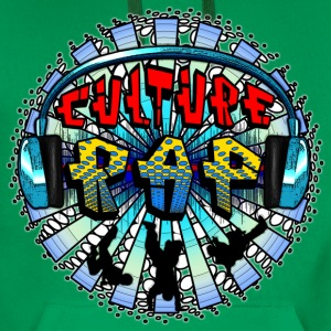 culture rap  T-Shirts - Men's Premium Hoodie