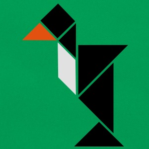 tangram pinguin T-Shirts - Retro Bag