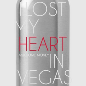 I lost my heart in Las Vegas T-Shirts - Trinkflasche