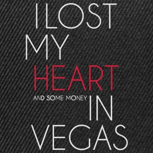 I lost my heart in Las Vegas T-Shirts - Snapback Cap