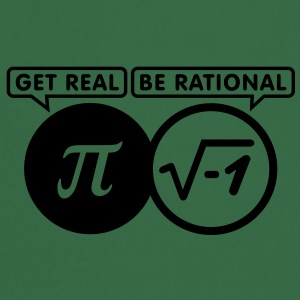 get real - be rational (1c) T-Shirts - Cooking Apron
