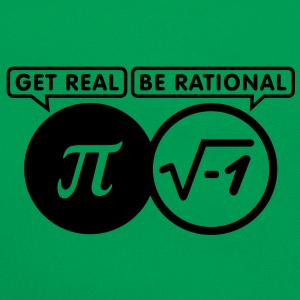 get real - be rational (1c) T-Shirts - Retro Bag