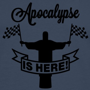 Apocalypse is here | Jesus T-Shirts - Premium langermet T-skjorte for menn