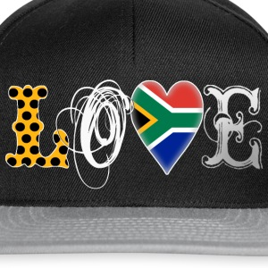 Love South Africa White T-Shirts - Snapback Cap