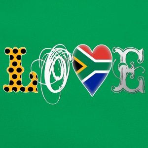 Love South Africa White Shirts - Retro Bag
