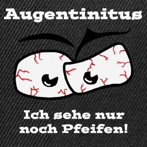 Augentinitus in weiss T-Shirts - Snapback Cap