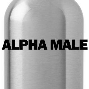 Alpha Male T-Shirts - Water Bottle