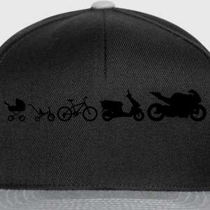 Motorcycle Evolution T-Shirts - Snapback Cap
