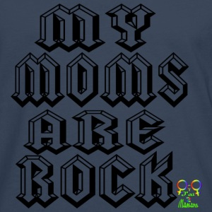my moms are rock Tee shirts - T-shirt manches longues Premium Homme