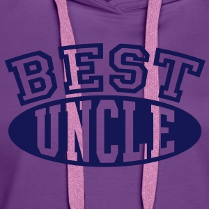 BEST UNCLE T-Shirt FL - Women's Premium Hoodie