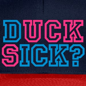 Duck sick | Suck dick | blasen | question | Frage T-Shirts - Snapback Cap