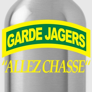 Garde Jagers Allez Chasse T-shirts - Drinkfles