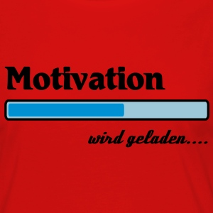 Motivation wird geladen... T-Shirts - Frauen Premium Langarmshirt