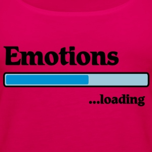 emotions loading... T-Shirts - Women's Premium Tank Top