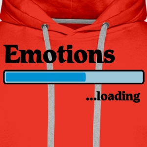 emotions loading... T-Shirts - Männer Premium Hoodie