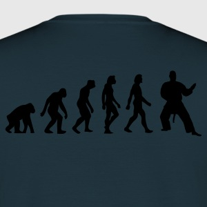 Navy Evolution of Judo (1c) Hoodies & Sweatshirts - Men's T-Shirt