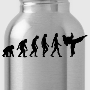Black Evolution of Taekwondo (1c) Hoodies & Sweatshirts - Water Bottle