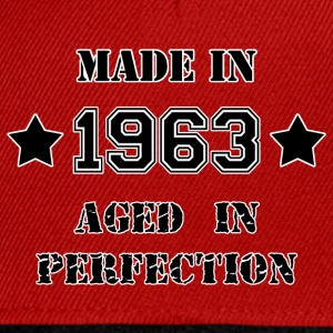 Made in 1963 T-Shirts - Snapback Cap