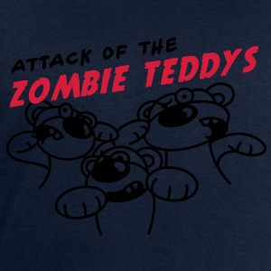 Attack of the Zombie Teddy T-shirts - Herresweatshirt fra Stanley og Stella