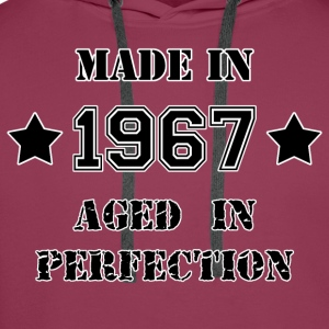 Made in 1967 Tee shirts - Sweat-shirt à capuche Premium pour hommes