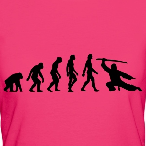 Evolution of Martial Arts (1c) Bags  - Women's Organic T-shirt