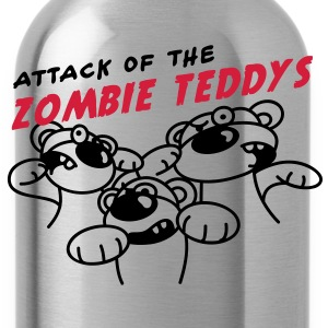 Attack of the Zombie Teddy T-shirts - Drikkeflaske