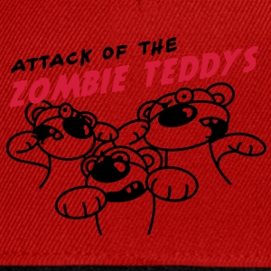 Attack of the Zombie Teddy T-shirts - Snapback Cap