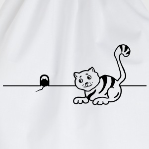 Cat & Mouse T-Shirts - Drawstring Bag