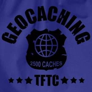geocaching - 2500 caches - TFTC / 1 color Magliette - Sacca sportiva